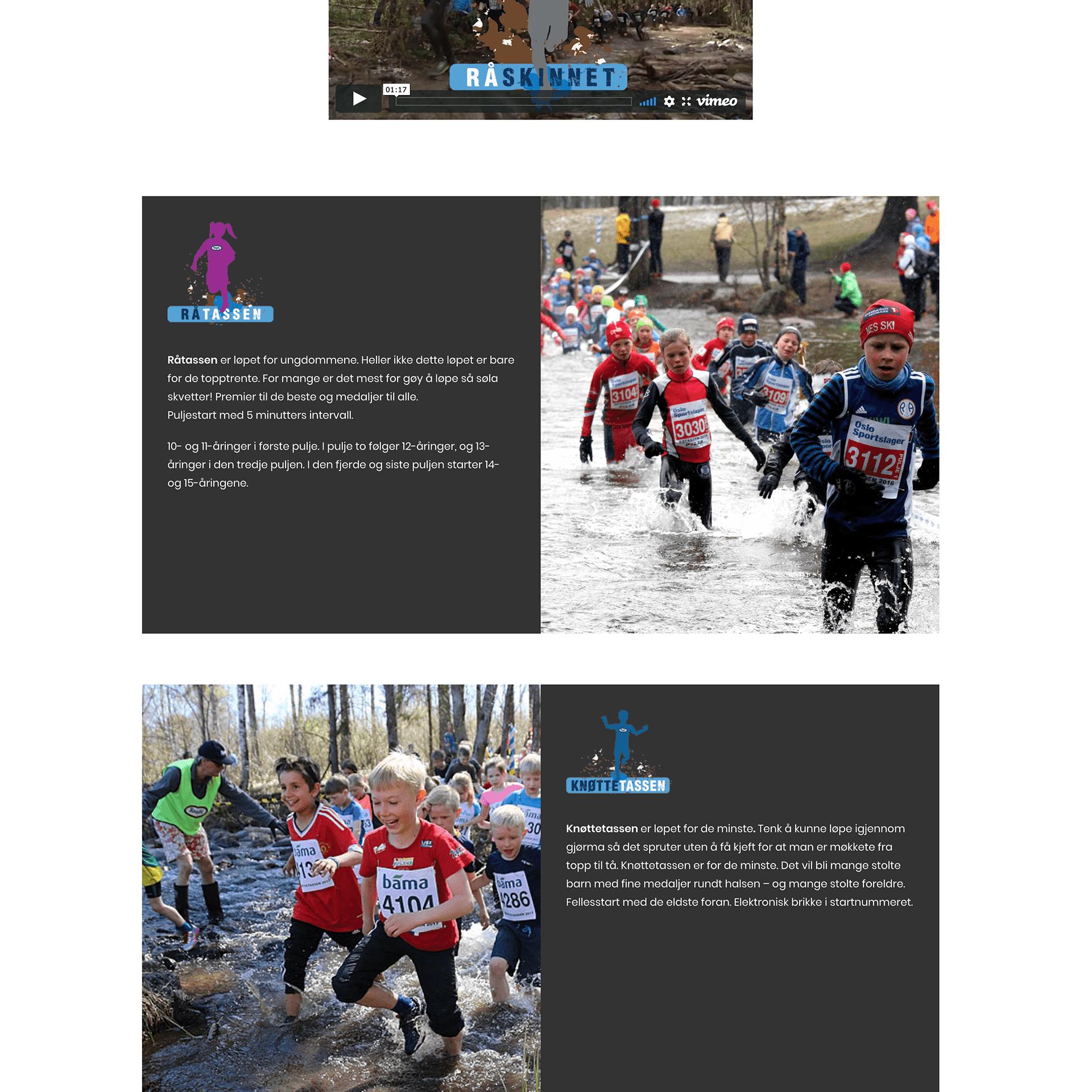 Råskinnet webside